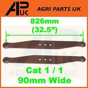 Pair Lower Link Lift Arms For Massey Ferguson 35 135 Fe35 Fordson Dexta Tractor