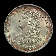 1832 50c Capped Bust Half Dollar Small Letters Pcgs Au58