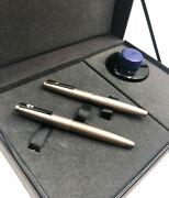 Lamy 2000 M Limited Special Edition Pen Set 50 Anniversary Black Amber