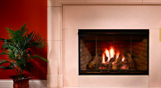 Majestic Reveal 36 Open Hearth B-vent Gas Fireplace Traditional Rbv4236it