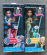 Monster High Rare Box Dead Tired Bff Set - Cleo De Nile And Ghoulia Yelps
