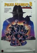 Police Academy 6 City Under Siege 1989 Bubba Smith, Marion Ramsey-one Sheet