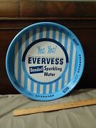 Yes Yes Evervess - Bonded Sparkling Water [metal Serving Tray] Pepsi-cola Co