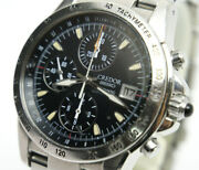 Seiko Credor Gcbp997 6s78-0a10 Date Black Automatic Authentic Mens Watch Works