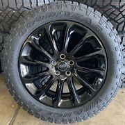 Genuine Range Rover Style 1065 20 Alloy Wheels And Good Year Duratrac Tyres X4