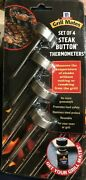 Mccormick Grill Mates Mc8003 Reusable Steak Button Meat Thermometer