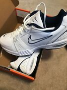 Nib Rare Nike Air Generate Athletic Sneakers Trainers White 366435-111 Size 11