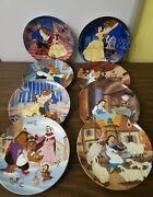 Lot Of 9 Knowles Bradex Disney Limited Ed. Collector's Porcelain Plates