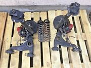 Left And Right Front Suspension, Hubs, Brakes Off A 1991 Mercedes Benz 300sl -t2