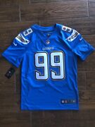 Nike 99 Joey Bosa Size Small La Chargers Dry Fit Jersey Sewn On Field Apparel
