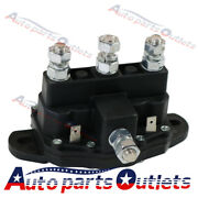 New Reversing Solenoid Relay 6 Terminal Continuous Winch Motor Contactor 12v