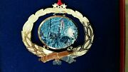 M Kunstler 1996 Collectible Christmas Ornament 0747 Timber Ridge 1st In Series