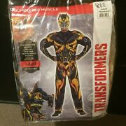 New Transformers Bumblebee Bodysuit One Size Fits Most Halloween Costume