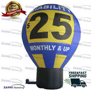 20ft Commercial Inflatable Air Balloon Promotion Advertising With Air Blower