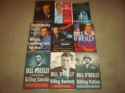 Bill O'reilly 9 Book Lot Killing Patton Kennedy Lincoln Factor Culture Warrior