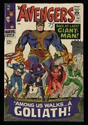 Avengers 28 Vg/fn 5.0 White Pages 1st Collector Giant Man Becomes Goliath
