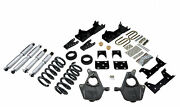 Belltech 01-06 Chevy Silverado/sierra Std Cab 5/7 Drop W/sp Shocks Lowering Kit