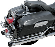 Bassani 4in. Quick Change Black Slip-on Mufflers 1f740b Made In The Usa