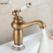 Newbathroom Faucet Antique Bronze Finish Brass Basin Sink Solid -free Shipping