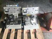 Dp Veen Model 1550 Ultrasonic Thermocompression Manual Wire Bonder Lot Of 2