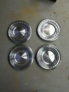 1962 1963 Lincoln Continental 14 Wheel Covers Hubcaps Set Of 4