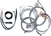 La Choppers Complete Bar Swap Cable And Brake Line Kit La-8052kt2-16 Made In Usa