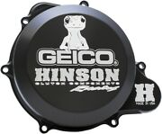 Hinson Billet Aluminum Clutch Cover Hard Coated Ano Black C494-g Made In Usa