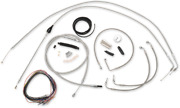 La Choppers Complete Bar Swap Cable And Brake Line Kit La-8006kt2b-13 Made In Usa