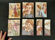 Antique 1892 Lithograph Childrenand039s Toy Picture Puzzle