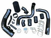 Intercooler Pipe Boot Kit Cac Tube And Cold Air Intake + Elbow 6.0l Powerstroke V8