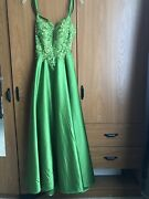 Jj's House Dress Clover Green Size 2 New With Tags