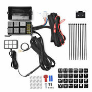 6 Gang Switch Panel Relay System Circuit Control Box For Jeep Wrangler Boat Car