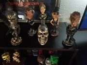 Hollywood Collectibles T2 Terminator 2 Bobbleheads Full Collection Ultra Rare