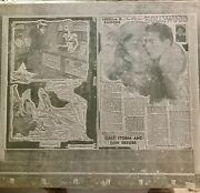 Vintage Barbara Shermund And Louella Parsons Pictorial Review Newspaper Flong