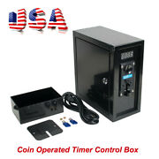 Coin Operated Timer Control Box Electronic Device Coin Selector Acceptor-us Ship