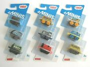 Thomas And Friends Minis Train Minature Toy Kid Trains Fun To Collect 3 Sets New