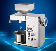 Commercial Electric Hot And Cold High Power Oil Press Machine Stainless Steel T