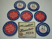 Paul Wellstone Rarity About The Beer Tax - 20 Table Coasters + Bonus