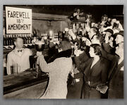 Farewell 18th Amendment End Of Prohibition - Choose Unframed Poster Or Canvas