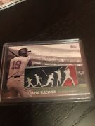 2018 Charlie Blackmon Colorado Rockies Topps Player Weekend Logo Patch Card