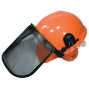 New Stens 751-111 Chainsaw Protective Safety Helmet Hard Hat Earmuffs Faceshield
