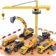 Vehicle Playsets Ilearn Construction Site Vehicles Toy Set, Kids Playset Iplay