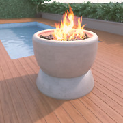 27 Fire Bowl W/ Stand