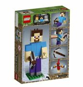 Lego Minecraftandtrade 21148 Steve Bigfig With Parrot Free Ship+tracking Number