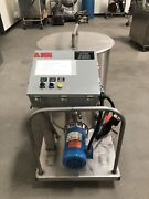 Process And Packaging Machine Portable Ss Cip Press Washer W/goulds Pump