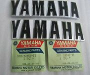 Brand New 1973 Yamaha Rd250 Oem Factory Right / Left Side Gas Fuel Tank Emblems