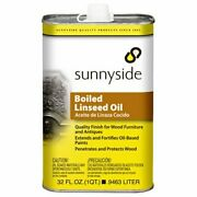 Fast Drying Boiled Linseed Oil For Wood Furniture And Antiques 32oz