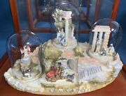 Goebel Olszewski Nativity - Enamel Metal Miniatures W/ Displays -complete 1st Ed