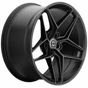 20 Hre Ff11 Black 20x10 20x11 Forged Concave Wheels Rims Fits Ford Mustang Gt