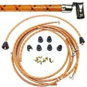 Cotton Spark Plug Wires For Chris-craft Hercules 6-cylinder Marine Engines
